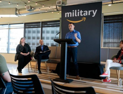 Amazon welcomes first graduates of programme to turn veterans into technologists