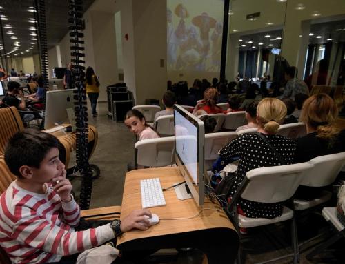 In robotics classes, Armenian teens dream of high-tech future
