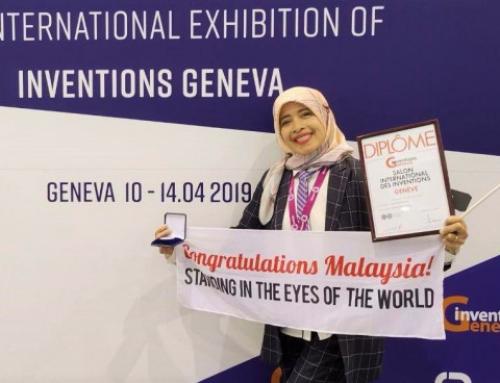 "Guru Biologi MRSM Terendak, Wan Rohila terima anugerah Silver Award Inovasi Malaysia serta memenangi Silver Award pertandingan ""47th International Exhibition Of Inventions 2019 Geneva, Switzerland"""