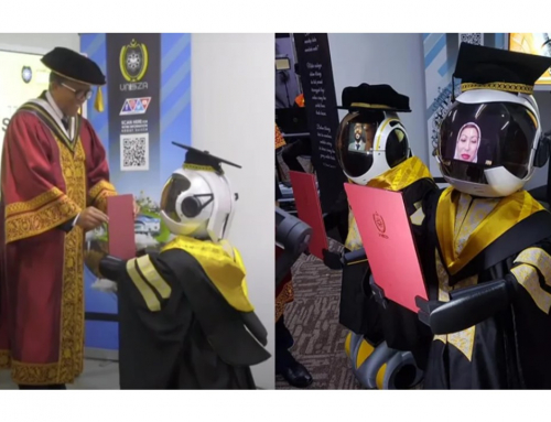 This Malaysian University Wants To Use Robots For Their Graduation Ceremonies